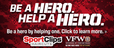 Sport Clips Torrance​ Help a Hero Campaign