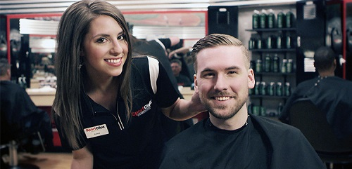 Sport Clips Haircuts of Torrance​ stylist hair cut